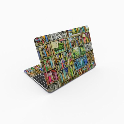 MacBook 12in Skin - Bookshelf