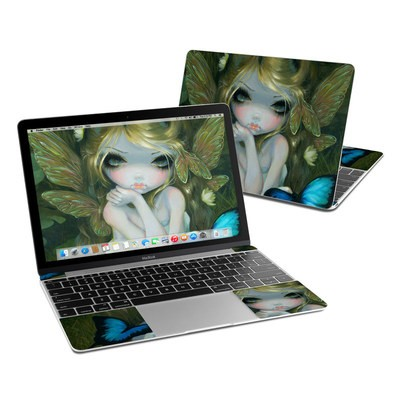 MacBook 12in Skin - Butterfly Lily