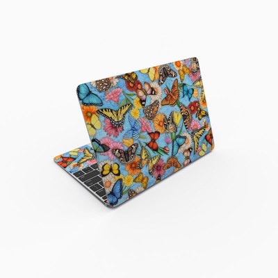 MacBook 12in Skin - Butterfly Land