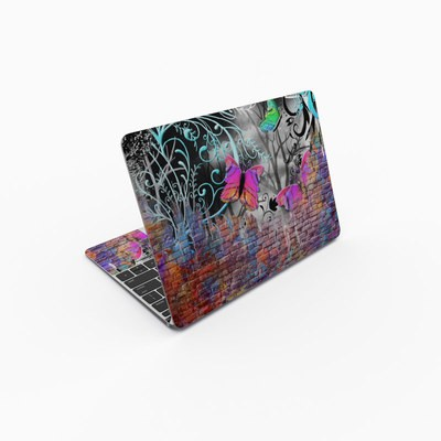 MacBook 12in Skin - Butterfly Wall