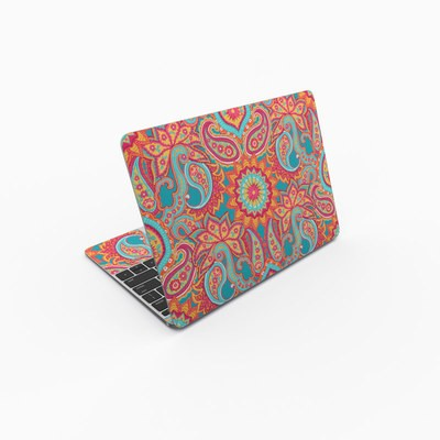 MacBook 12in Skin - Carnival Paisley