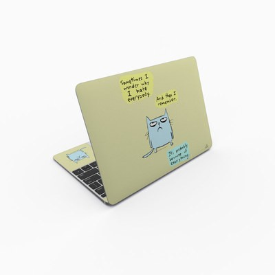 MacBook 12in Skin - Catwad Hate