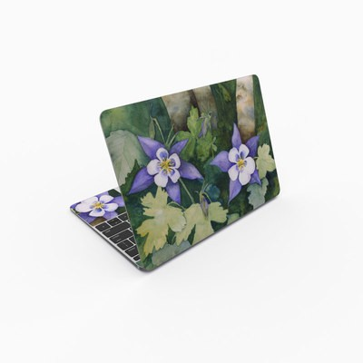 MacBook 12in Skin - Colorado Columbines