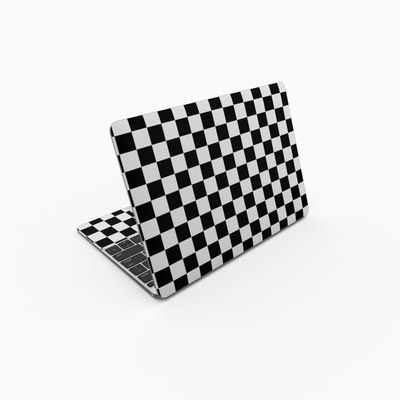 MacBook 12in Skin - Checkers