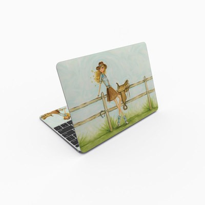 MacBook 12in Skin - Cowgirl Glam
