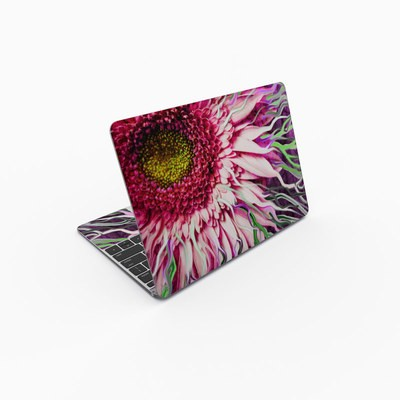 MacBook 12in Skin - Crazy Daisy