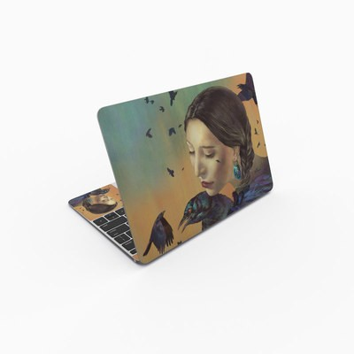 MacBook 12in Skin - Crow Maiden