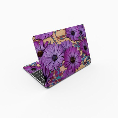MacBook 12in Skin - Daisy Damask