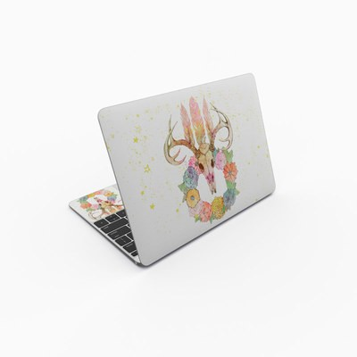 MacBook 12in Skin - Deer Skull