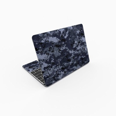 MacBook 12in Skin - Digital Navy Camo