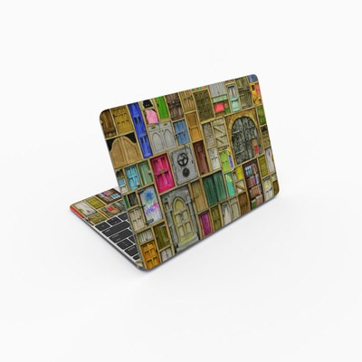 MacBook 12in Skin - Doors Closed
