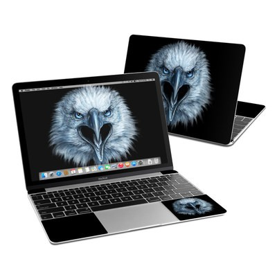 MacBook 12in Skin - Eagle Face