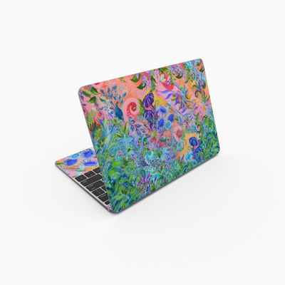 MacBook 12in Skin - Fantasy Garden
