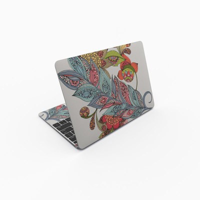 MacBook 12in Skin - Feather Flower