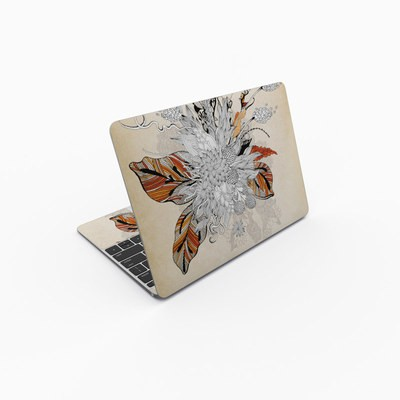 MacBook 12in Skin - Fall Floral