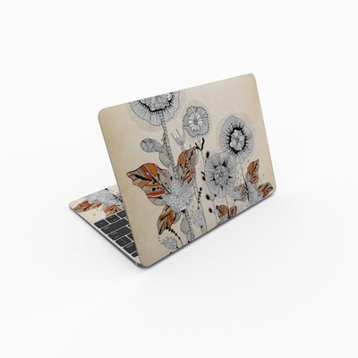 MacBook 12in Skin - Four Flowers
