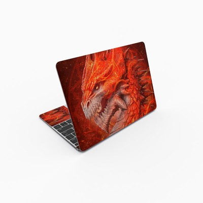 MacBook 12in Skin - Flame Dragon
