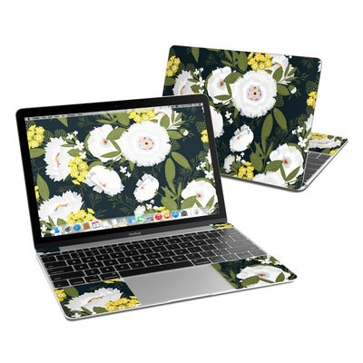 MacBook 12in Skin - Fleurette Night