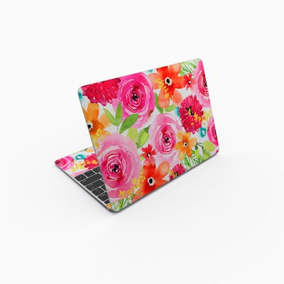MacBook 12in Skin - Floral Pop