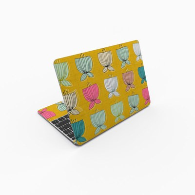 MacBook 12in Skin - Flower Cups