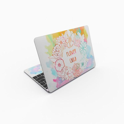 MacBook 12in Skin - Flower Child