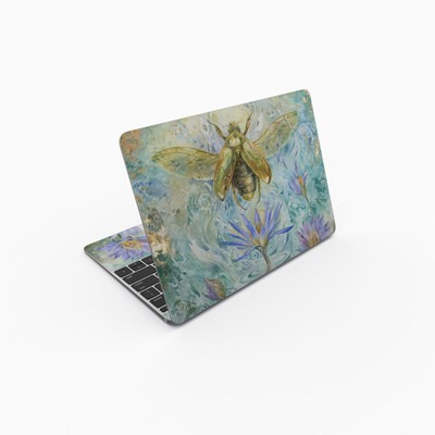 MacBook 12in Skin - When Flowers Dream
