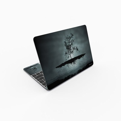 MacBook 12in Skin - Flying Tree Black