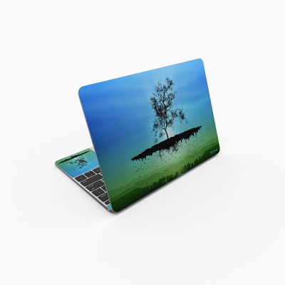 MacBook 12in Skin - Flying Tree Blue