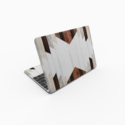 MacBook 12in Skin - Geo Wood