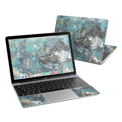 MacBook 12in Skin - Gilded Glacier Marble