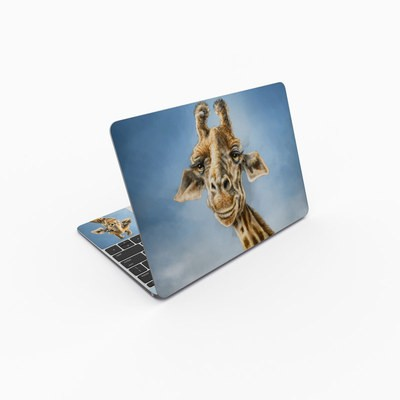MacBook 12in Skin - Giraffe Totem