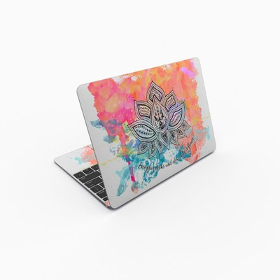 MacBook 12in Skin - Happy Lotus