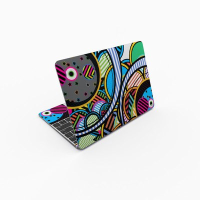 MacBook 12in Skin - Hula Hoops