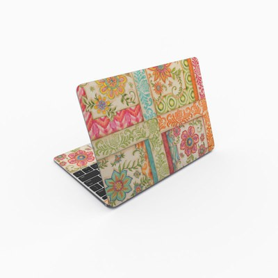 MacBook 12in Skin - Ikat Floral
