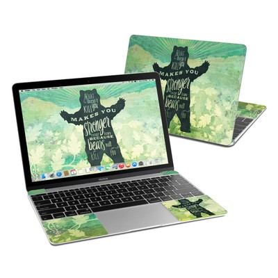 MacBook 12in Skin - What Doesnt Kill You