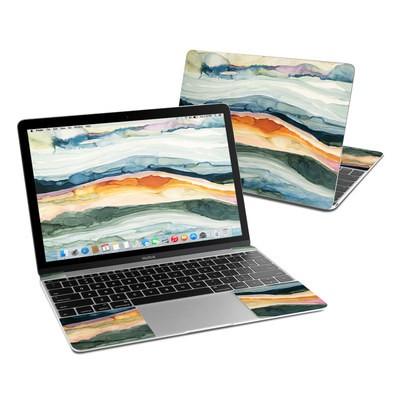 MacBook 12in Skin - Layered Earth