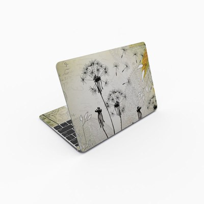 MacBook 12in Skin - Little Dandelion