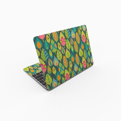 MacBook 12in Skin - Little Leaves