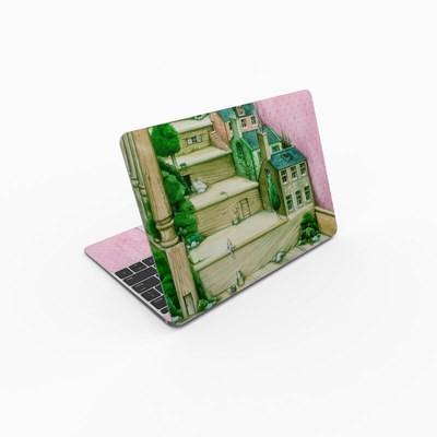 MacBook 12in Skin - Living Stairs