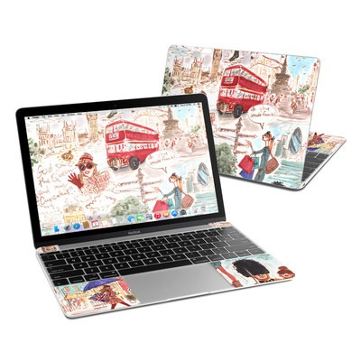 MacBook 12in Skin - London