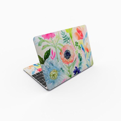 MacBook 12in Skin - Loose Flowers