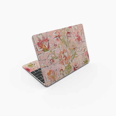 MacBook 12in Skin - Love Floral