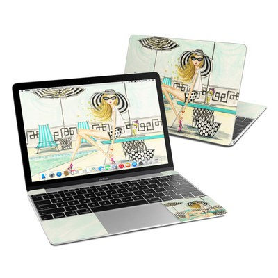MacBook 12in Skin - Luxe Retreat Poolside