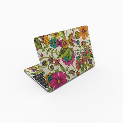 MacBook 12in Skin - Maia Flowers