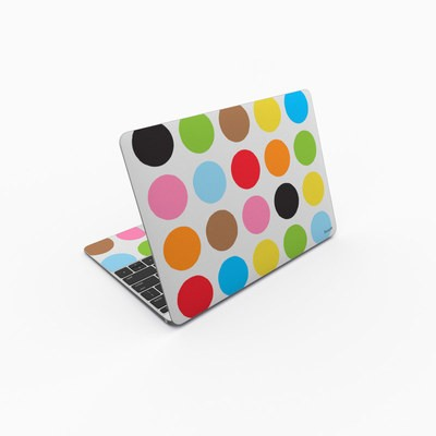 MacBook 12in Skin - Multidot