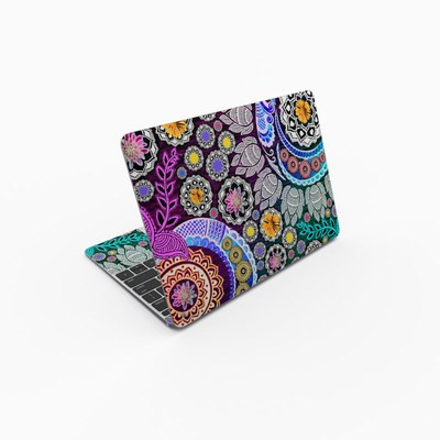 MacBook 12in Skin - Mehndi Garden