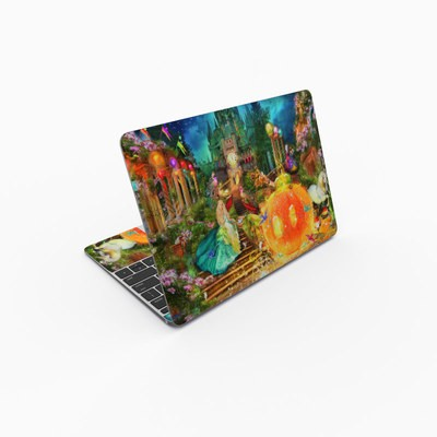 MacBook 12in Skin - Midnight Fairytale