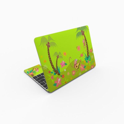 MacBook 12in Skin - Monkey Melody