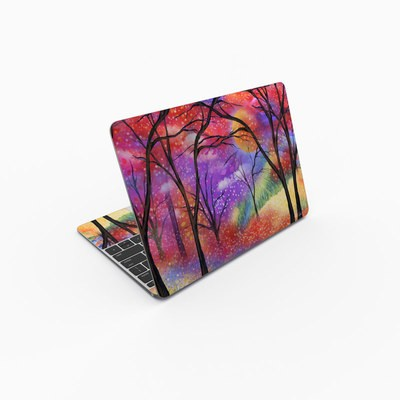 MacBook 12in Skin - Moon Meadow