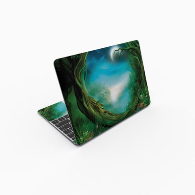 MacBook 12in Skin - Moon Tree